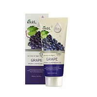 ekel пилинг-скатка с экстрактом винограда natural clean peeling gel grape