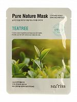 anskin secrisecret skin маска для лица тканевая secrisecret skin pure nature mask pack-teatree 25мл
