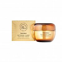 tonymoly крем для лица с муцином улитки intense care gold snail cream