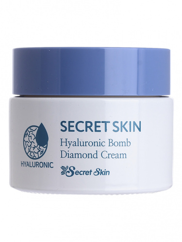 secret skin крем для лица secretskin hyaluronic bomilk baobab diamond cream