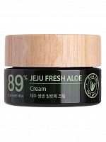 the saem aloe крем для лица с алоэ jeju fresh aloe cream_i 50мл