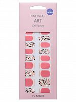 the saem nail наклейки для ногтей nail wear art gel sticker 05