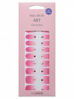 the saem nail наклейки для ногтей nail wear art gel sticker 04