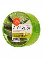 welcos kwailnara гель для тела успокаивающий aloe vera moisture real soothing gel 300