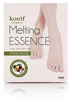 koelf маска-носочки для ног melting essence foot pack