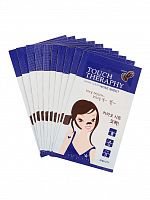 welcos touch therapy патчи очищающие для носа touch therapy cacao pore clear nose sheet pack 10шт