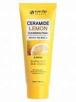 eyenlip пенка ceramide lemon cleansing foam 100мл