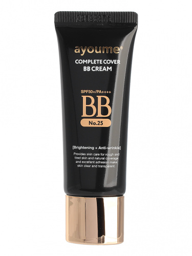 ayoume крем бб complete cover bb cream_#25(20ml)