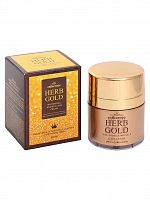 deoproce herb gold крем для лица омолаживающий estheroce herb gold whitening & wrinkle care cream 50ml