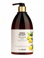 the saem urban delight лосьон для тела urban delight body lotion [citron] 400мл