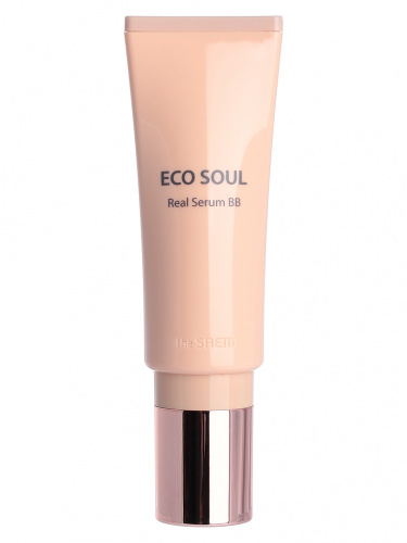 the saem eco soul бб-крем-сыворотка eco soul real serum bb 21 light beige