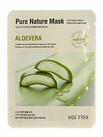 anskin secrisecret skin маска для лица тканевая secrisecret skin pure nature mask pack- aloevera 25мл