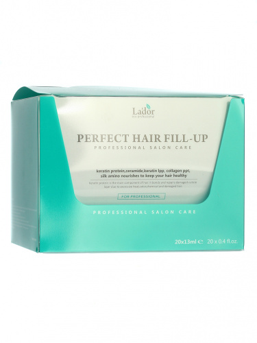 lador perfect филлер для восстановления волос perfect hair filler 13ml x 20 13мл*20