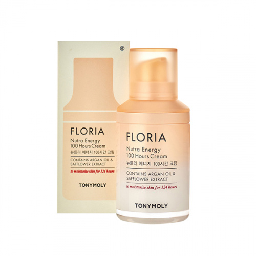 tonymoly восстанавливающий крем для лица с аргановым маслом floria nutra energy 100 hours cream