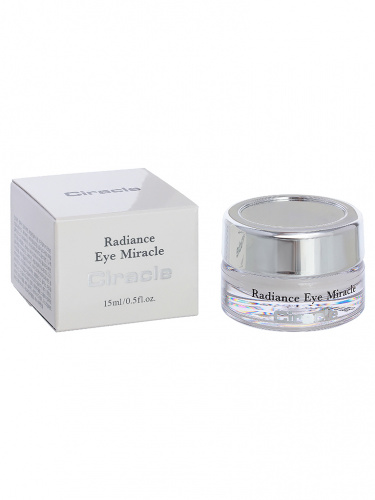 ciracle radiance крем для глаз radiance eye miracle 15мл