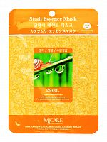 mijin essence маска тканевая для лица улитка snail essence mask 23гр