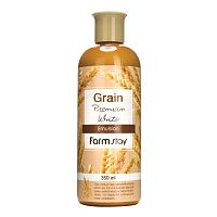 farmstay выравнивающая эмульсия с экстрактом ростков пшеницы grain premium white emulsion
