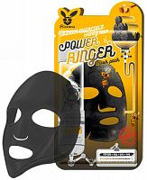 elizavecca тканевая маска c древесным углем и медом power ringer mask pack black charcoal honey deep
