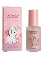the saem rabbit крем для лица (база под макияж) (over action little rabbit)eco soul peach base 30мл