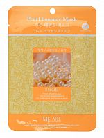 mijin essence маска тканевая для лица жемчуг pearl essence mask 23гр