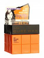 welcos confume воск для укладки волос confume cube wax air volume wave 80гр