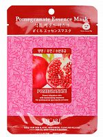 mijin essence маска тканевая для лица гранат pomegranate essence mask 23гр