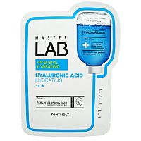 tonymoly тканевая маска для лица с гиалуроновой кислотой master lab real hyaluronic acid