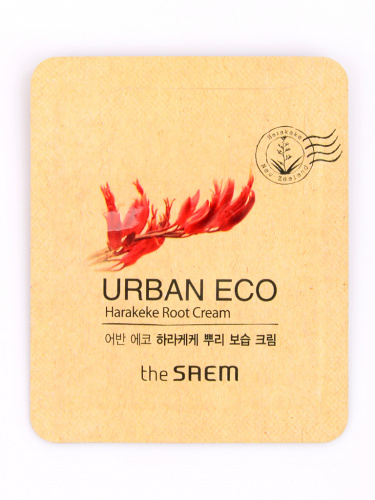 the saem harakeke r крем для лица с экстрактом корня новозеландского льна пробник (notforsale)urban eco harakeke root cream-sample pouch 1мл