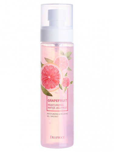 deoproce мист для лица гелевый grapefruit moisturizing water jelly mist 150мл