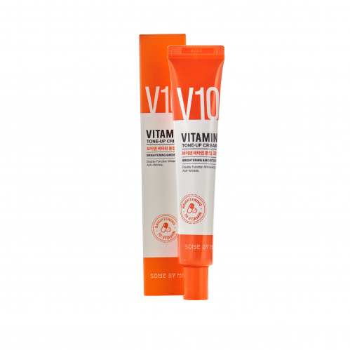 some by mi крем для лица с витаминным комплексом v10 vitamin tone-up cream