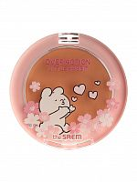 the saem rabbit румяна компактные saemmul single blusher cr01 naked peach 5гр