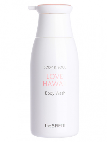 the saem body & soul гель для душа body & soul love hawaii body wash