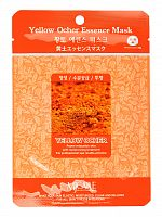 mijin essence маска тканевая для лица охра yellow ocher essence mask 23гр